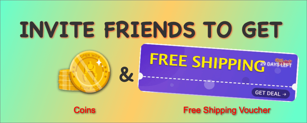 Invite your friends to OpenWoW and you can get great rewards!